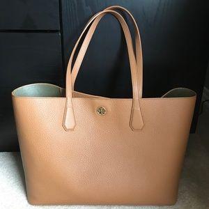 Beautiful TORY BURCH Oak Colour Tote Bag